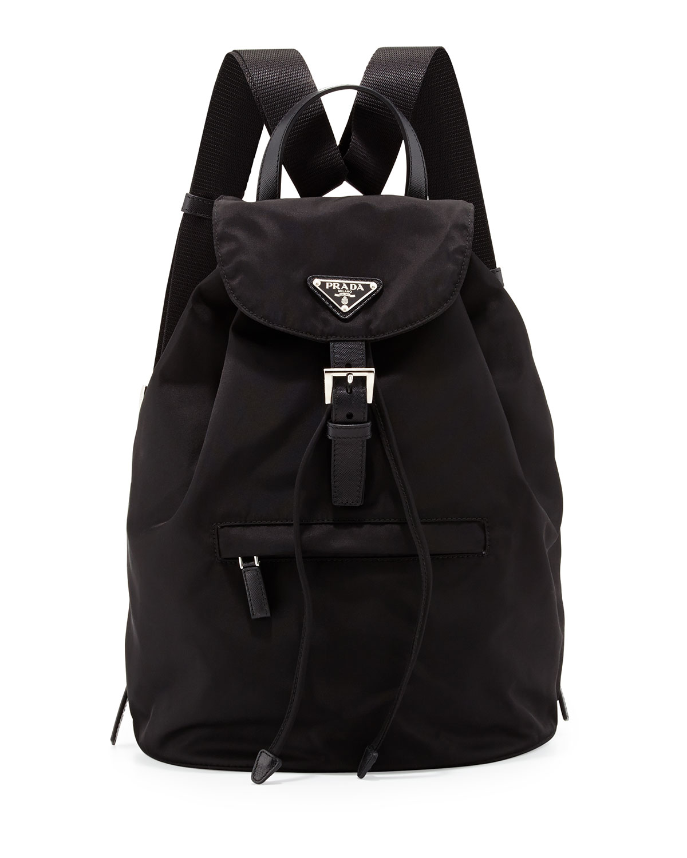 57ffaca93c4bf7 Prada Vela Single-Pocket Backpack | Neiman Marcus