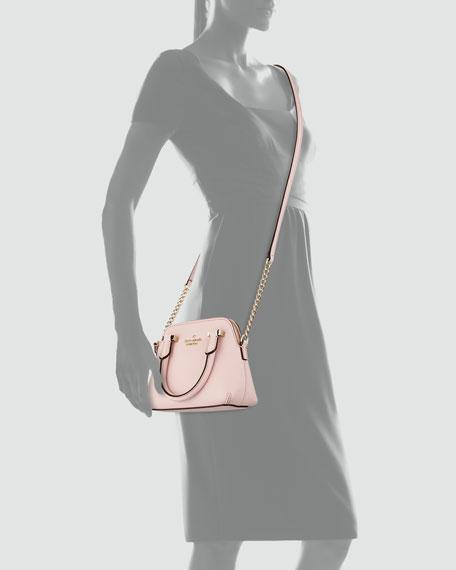cedar street mini maise crossbody bag, rosy dawn