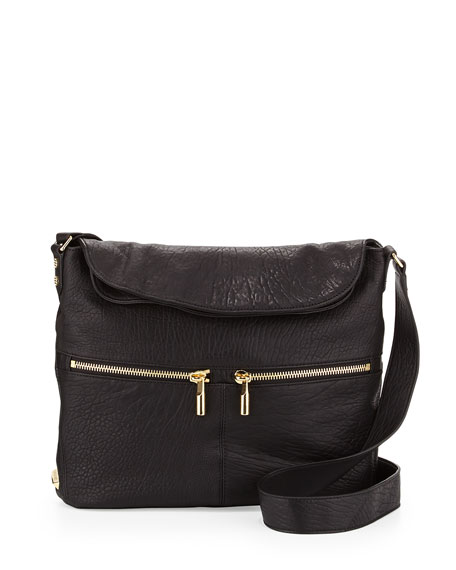 Elizabeth and James James Large Grain Crossbody Bag,