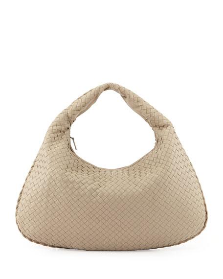 be1d51248a Bottega Veneta Intrecciato Woven Large Hobo Bag