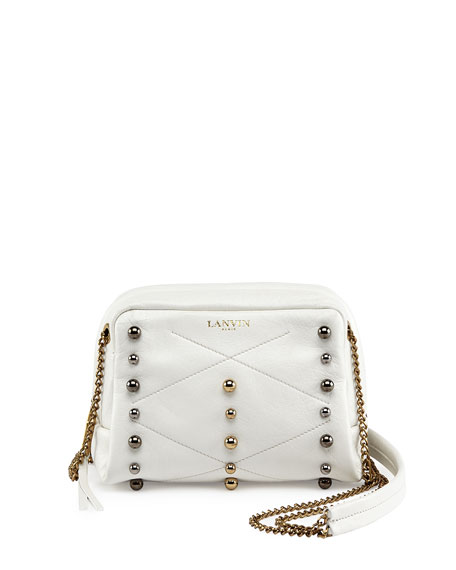 Lanvin Mini Sugar Studded Crossbody Bag