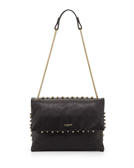 NEW MG Collection Adora Studded Shoulder Bag, Black, One Size BRAND NEW Brand New out of 5 stars - NEW MG Collection Adora Studded Shoulder Bag, Black, One Size BRAND NEW.