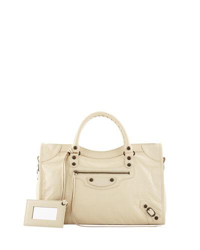 Classic City Bag, Cream