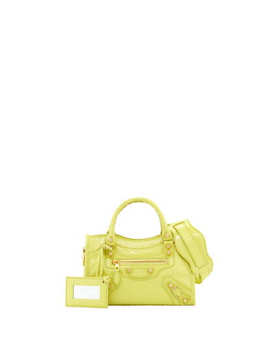 Giant 12 Golden City Mini Bag, Citron