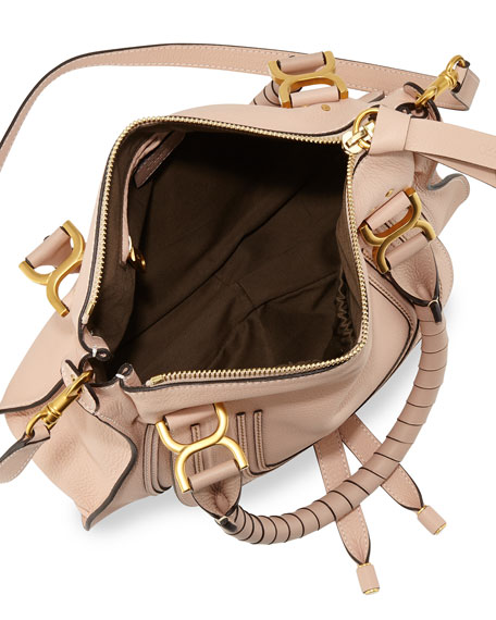 chloe satchel handbag - Chloe Marcie Medium Satchel Bag, Nude