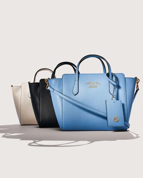 543ba73ffd67bc Gucci Swing Mini Crossbody Bag, Black | Neiman Marcus