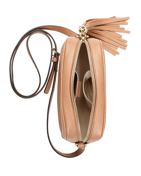 Soho Small Shoulder Bag, Beige