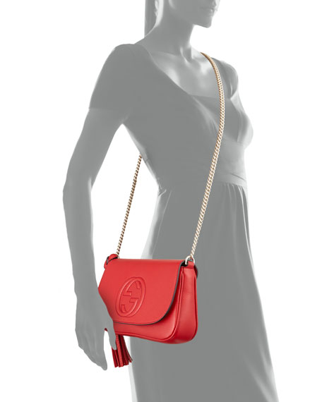 Soho Medium Crossbody Bag, Red