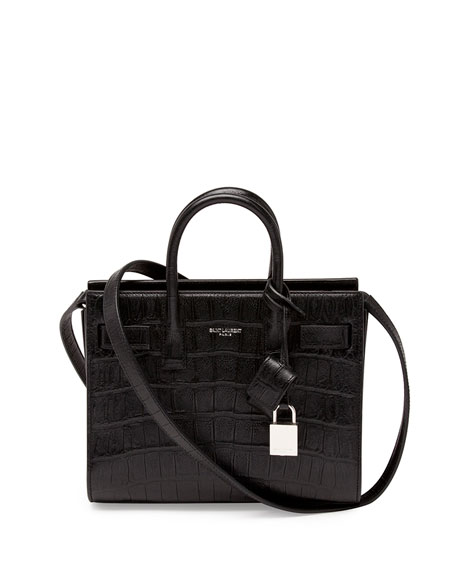 Sac de Jour Mini Satchel Bag, Black