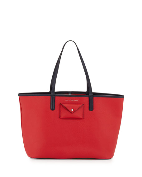 MARC by Marc Jacobs Metropolitote Tote Bag, Rosey Red