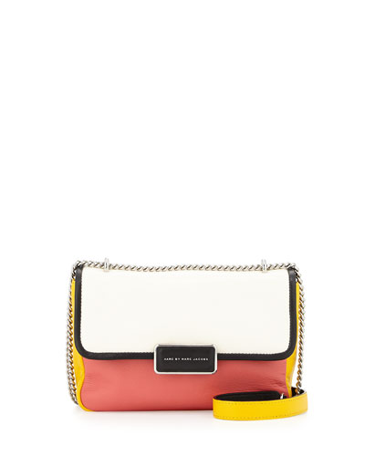 Rebel 24 Colorblock Crossbody Bag, White Birch Multi
