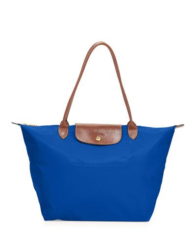 Le Pliage Large Tote Bag, Blue