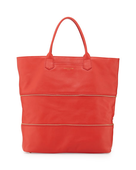 Longchamp 2.0 Tote Bag, Coral