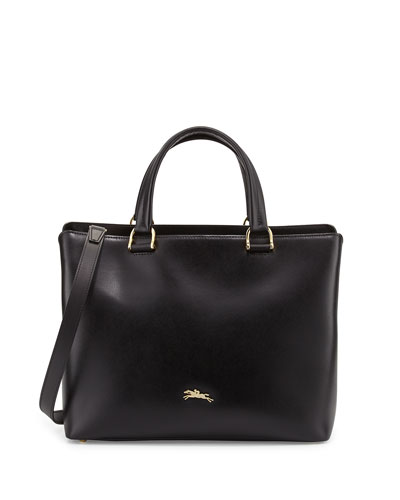 Honore Handbag w/Removable Strap, Black