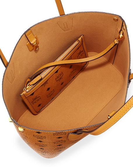 Mcm Shopper Project Visetos Shopper Bag Cognac Neiman