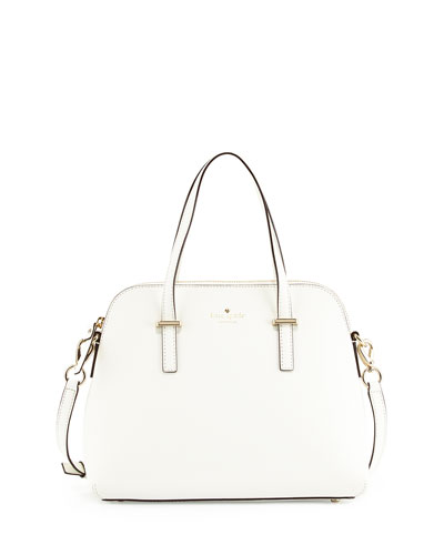 cedar street maise tote bag, bright white