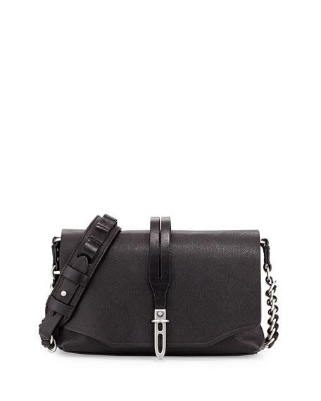 Rag & BoneEnfield Mini Leather Shoulder Bag, Black