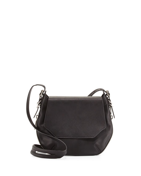 Rag & BoneBradbury Small Flap-Top Crossbody Bag, Black