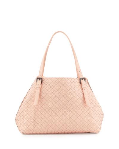 A-Shaped Medium Tote Bag, Flamingo Light Pink