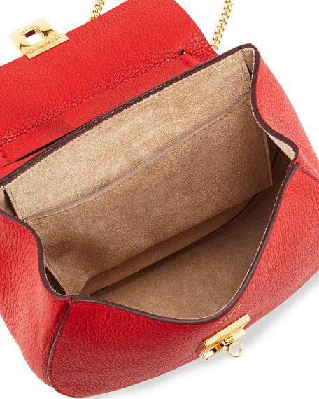 chloe pocketbooks - Chloe Drew Mini Chain Shoulder Bag, Red