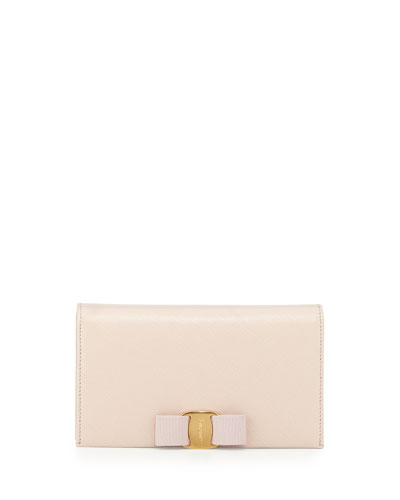 Miss Vara Bow Wallet-on-a-Chain, Macaron