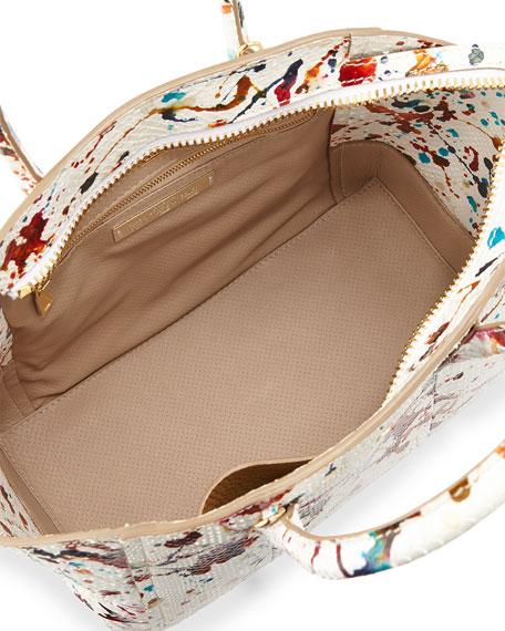 VBH Brera 30 Sport Python Satchel Bag, Multicolor