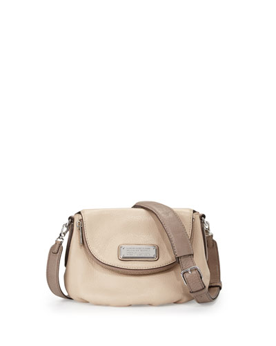 New Q Natasha Mini Crossbody Bag, Cement
