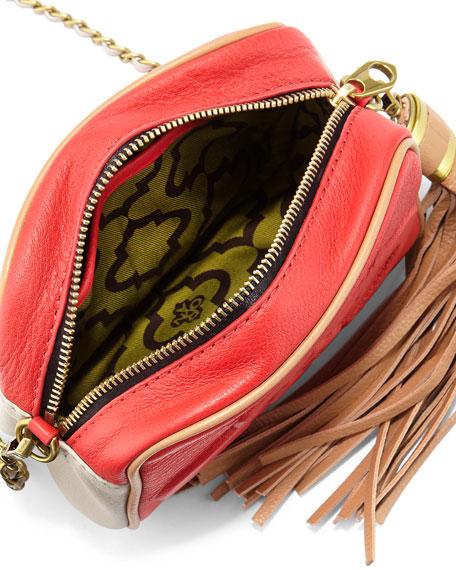 Taylor Colorblock Crossbody Bag, Berry Multi
