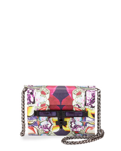 Lux Mini Printed Crossbody Strap