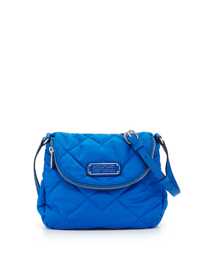 Crosby Quilted Nylon Mini Natasha Crossbody Bag, Salton Sea