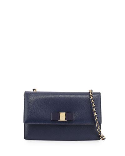 Ginny Vara Crossbody Bag, Oxford Blue