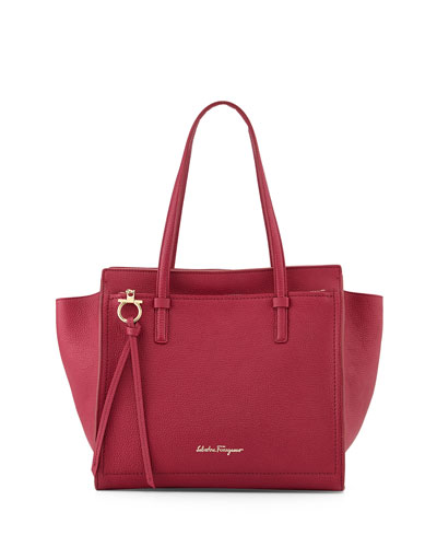 Amy Gancini Small Shopper Tote Bag, Wine