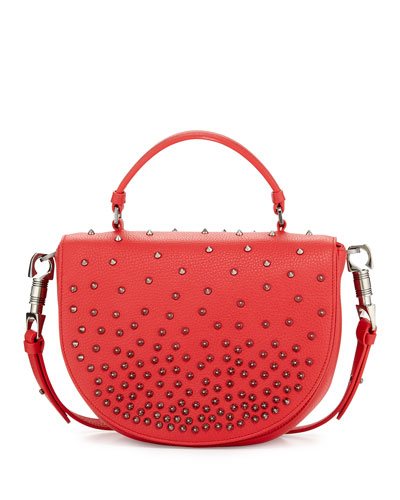 Panettone Degrade Spike Messenger Bag, Red