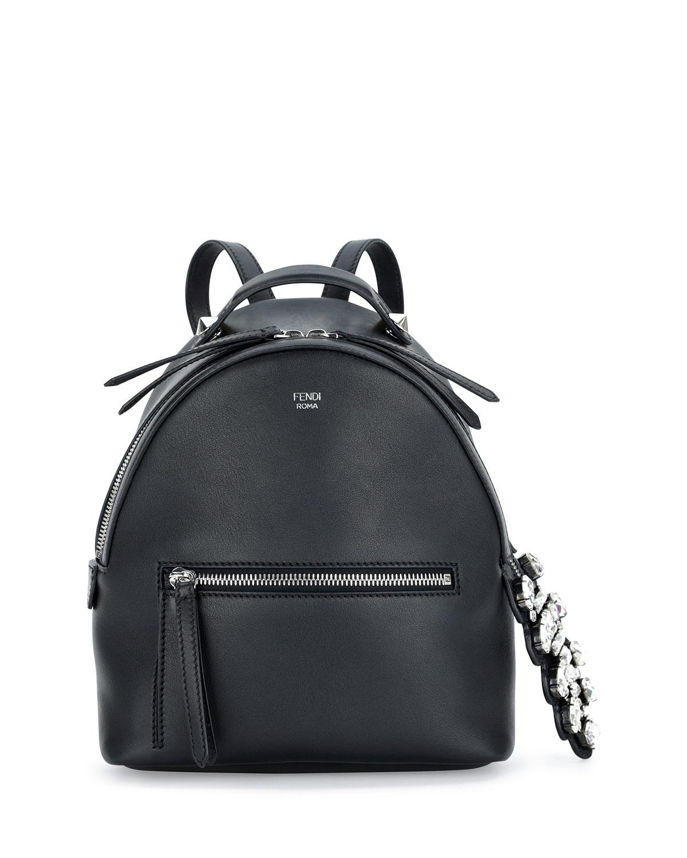 Fendi Mini Crystal Croc-Tail Backpack 14c2ffa84d01c