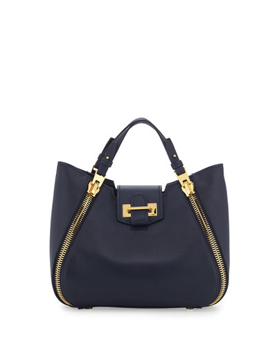 Sedgwick Mini Zipper Tote Bag, Navy