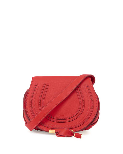 Marcie Small Crossbody Bag, Bright Red