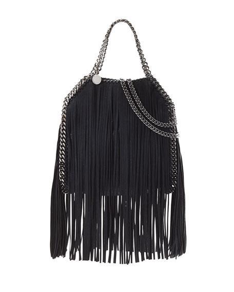Stella McCartney Falabella Mini Fringe Tote Bag, Light