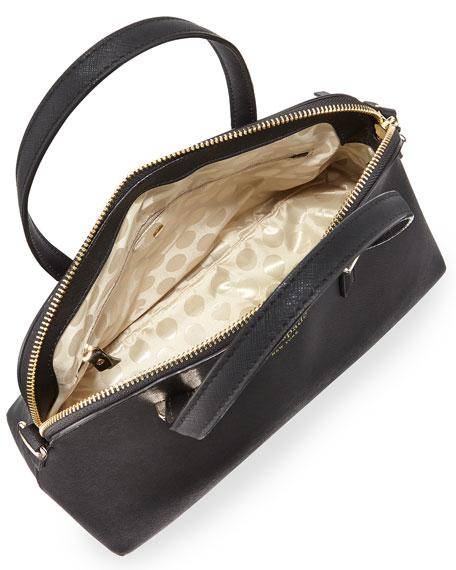kate spade new york cedar street maise satchel bag, black