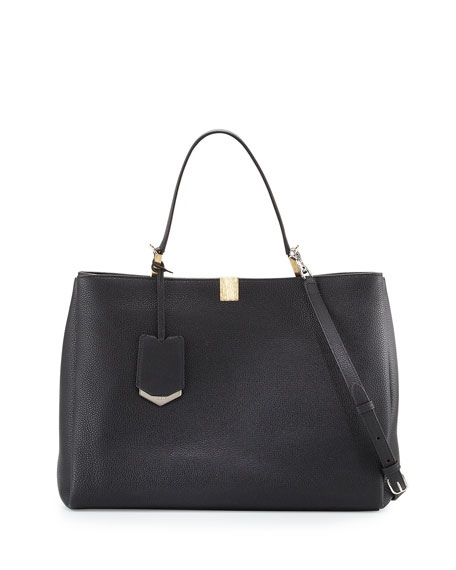 Balenciaga Le Dix Cartable Tote Bag, Black