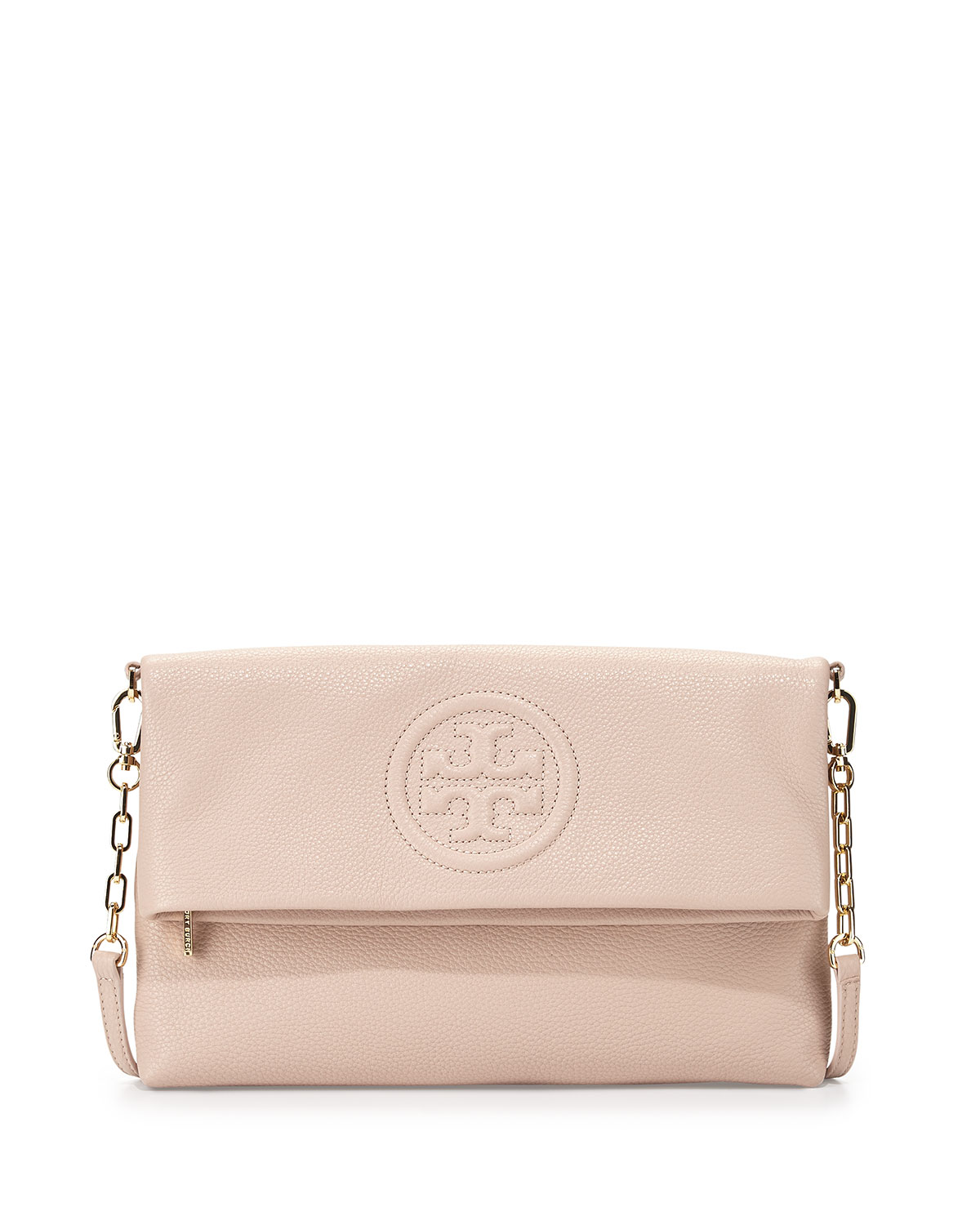 Bombe 94 se rapportant à tory burch bombe fold-over clutch bag, light oak | neiman marcus