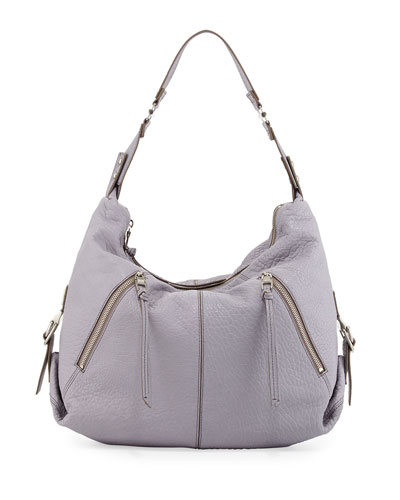 Lauren Hobo Bag, Light Gray