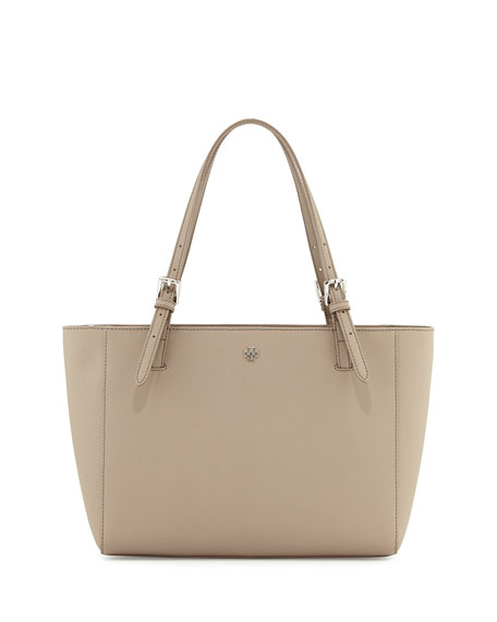 Tory Burch York Small Saffiano Leather Tote Bag,