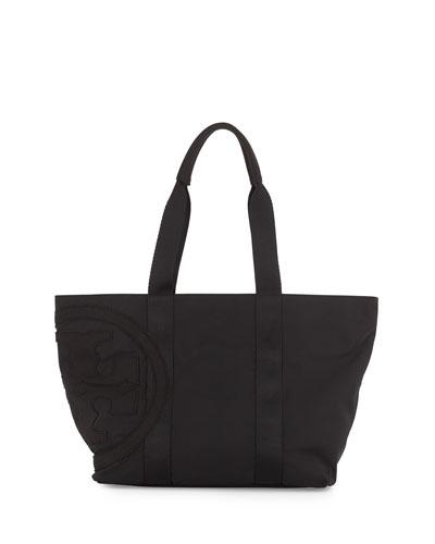Penn Nylon Small Tote Bag, Black