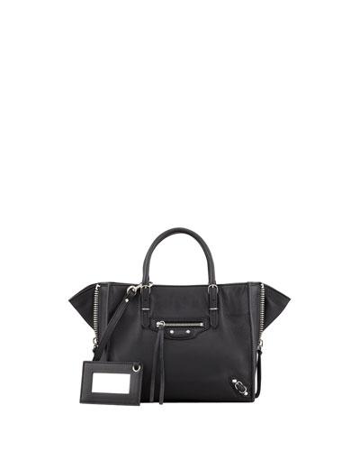 Balenciaga Papier A4 Mini Leather Tote Bag Rouge Order Now