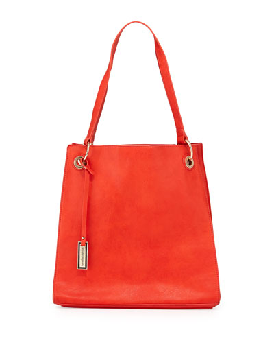 Committed Tote Bag, Coral