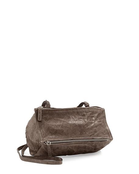 Givenchy Pandora Mini Pepe Crossbody Bag, Charcoal