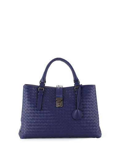 Roma Medium Tote Bag, Royal Blue