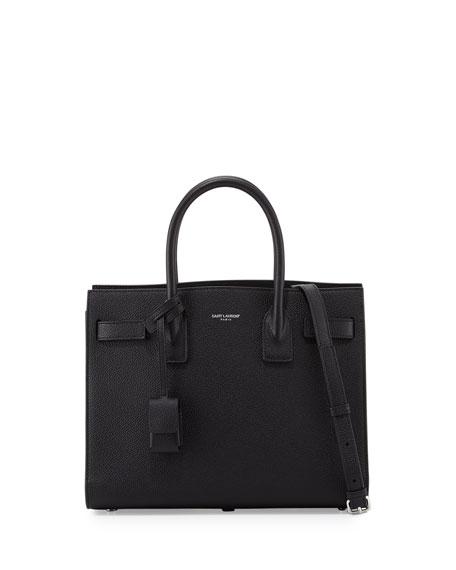 Saint LaurentSac de Jour Baby Satchel Bag, Black