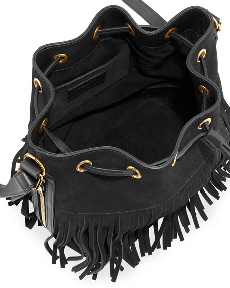 chains design handbags - Suede Fringe Handbag | Neiman Marcus