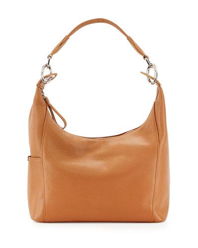 Le Foul Small Hobo Bag, Natural